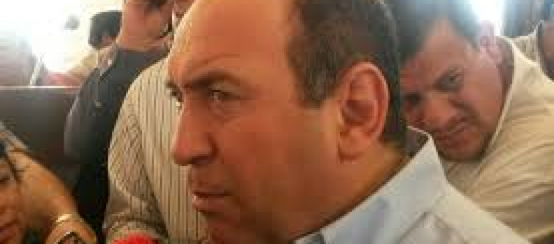 Reconoce Moreira que dejó a municipios sin recursos por cuartel militar