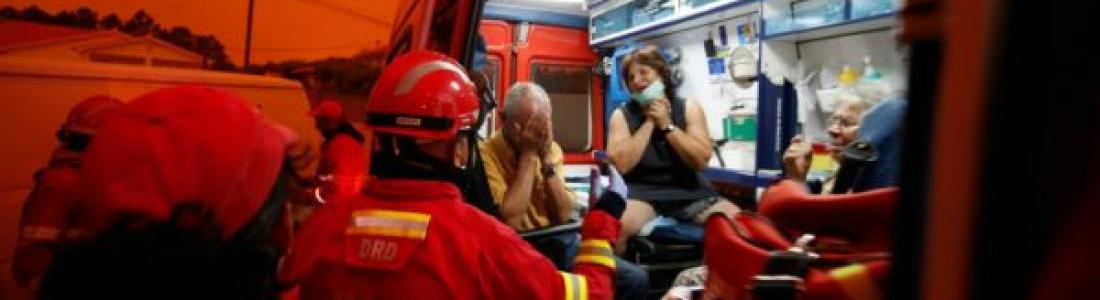 Portugal permanece en alerta máxima por incendios forestales