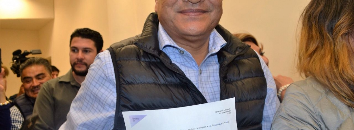 Se registra Javier Guerrero como candidato independiente a la gubernatura