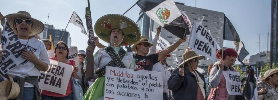 Persisten protestas masivas contra gasolinazo, en CDMX y 19 estados