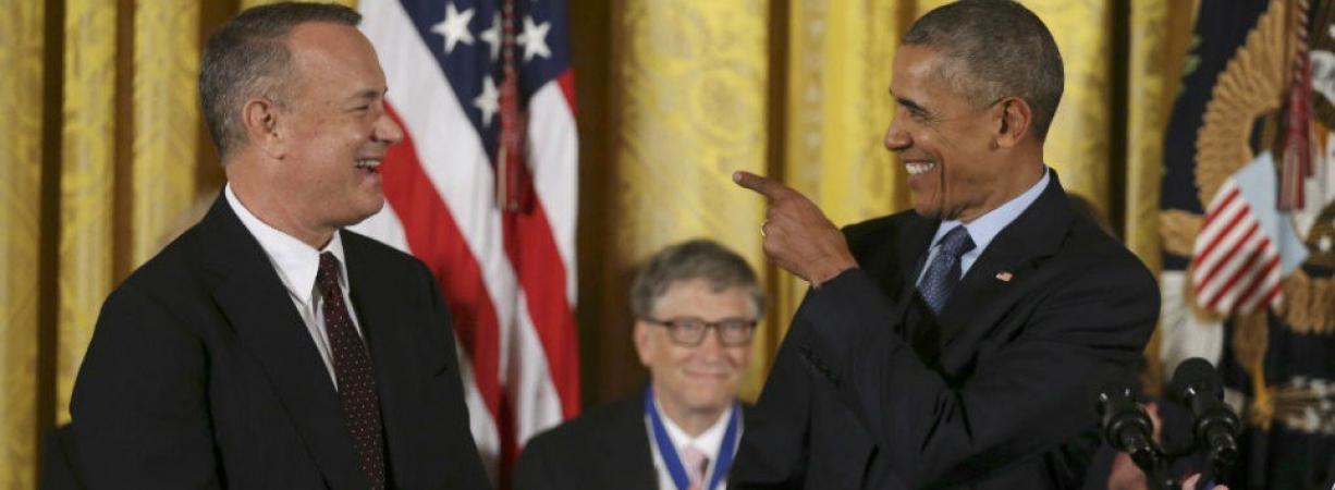 Obama entrega sus últimas Medallas de la Libertad