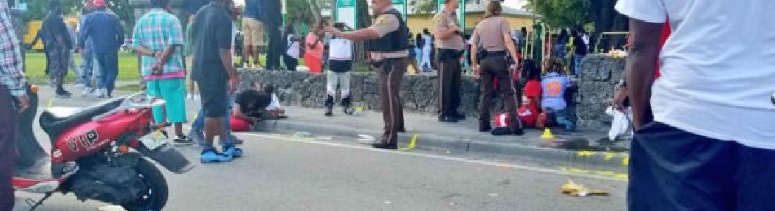 Balacera en Miami durante Día de Martin Luther King