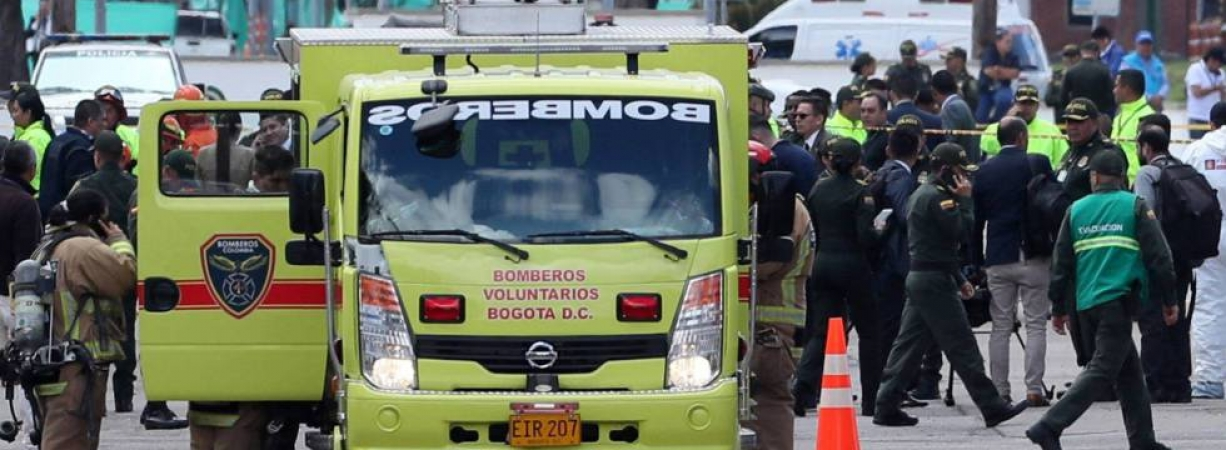 Un atentado con coche bomba en la escuela de la policía de Bogotá deja al menos 11 muertos