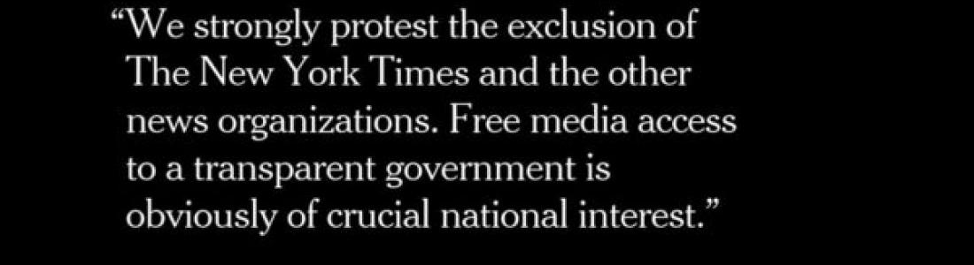 Preocupa a HRW, CPJ y SIP actitud de Trump hacia la prensa