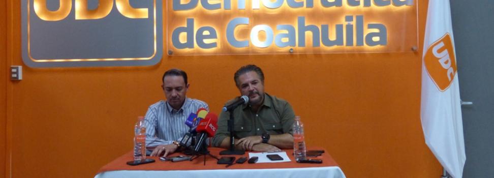 UDC participará con candidatos propios en 14 municipios