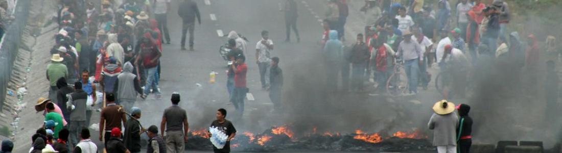 """Puebla: exigen devolución de """"desaparecidos"""" tras enfrentamiento con Ejército"""