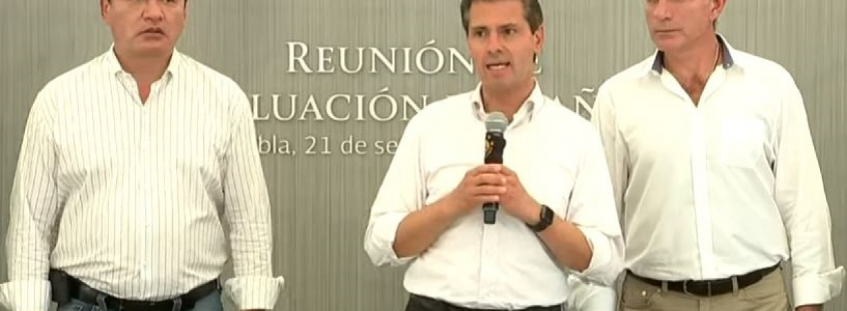 Peña Nieto afirma que continúan tareas de rescate