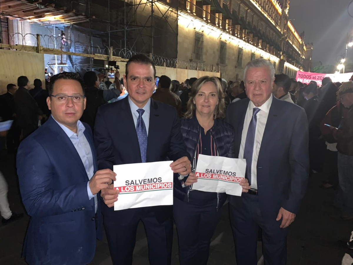 Alcaldes panistas de Torreón y Lamadrid exigen recursos a AMLO