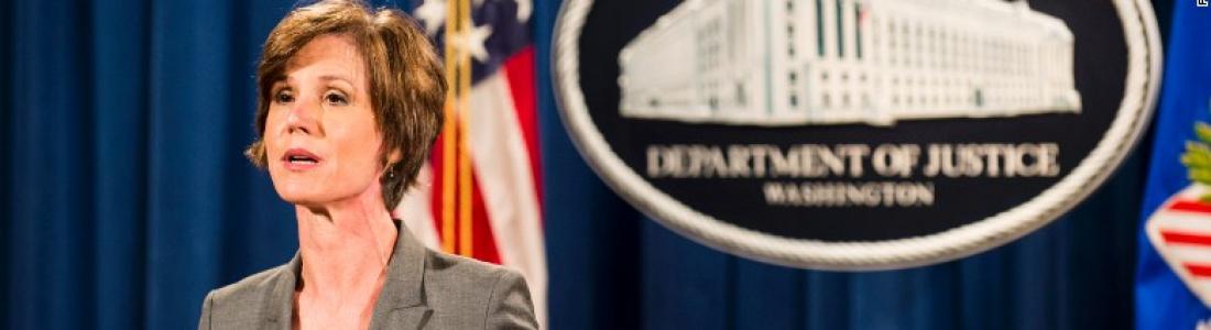Departamento de Justicia no defenderá el decreto inmigratorio de Trump