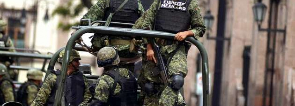 Soldados abusan de compañera la noche del Grito de Independencia