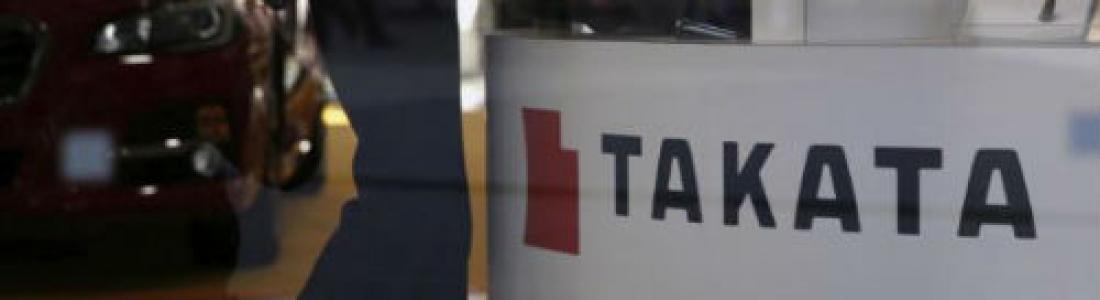 Takata 'se desinfla' y se declara en bancarrota