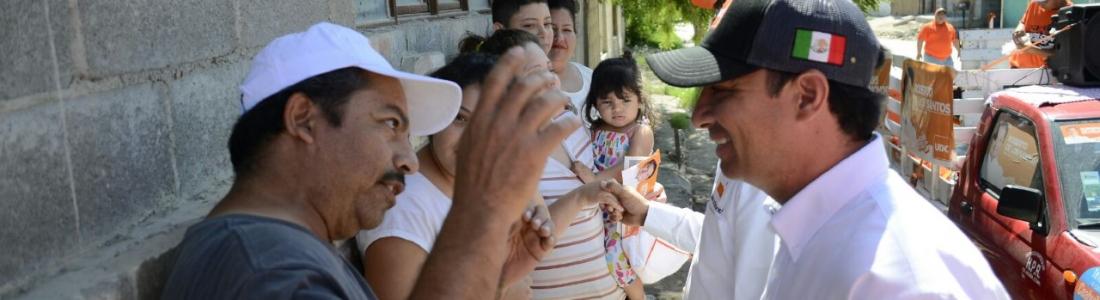"""""""La gente quiere un cambio real, que tengamos un gobierno transparente y sensible que le haga justicia a Acuña"""" Emilio Montemayor"""