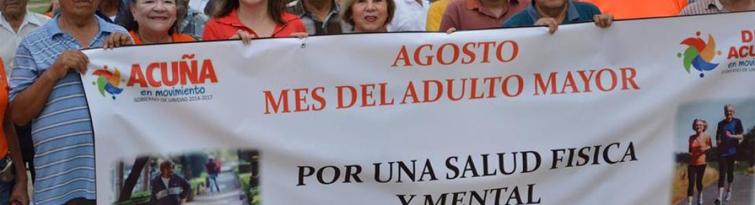 CON CAMINATA LOS ADULTOS MAYORES LLAMAN A LA REFLEXIÓN DE LA SOCIEDAD.