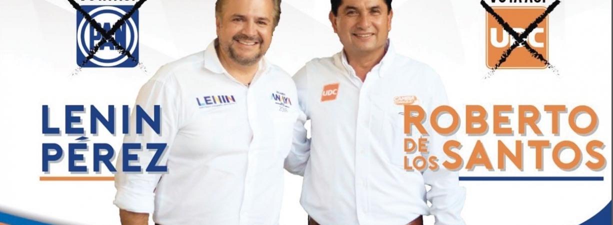 ROBERTO Y LENIN ENCABEZARÁN GRAN CIERRE  DE CAMPAÑA ESTE MARTES 26, EN LA PLAZA NARANJA