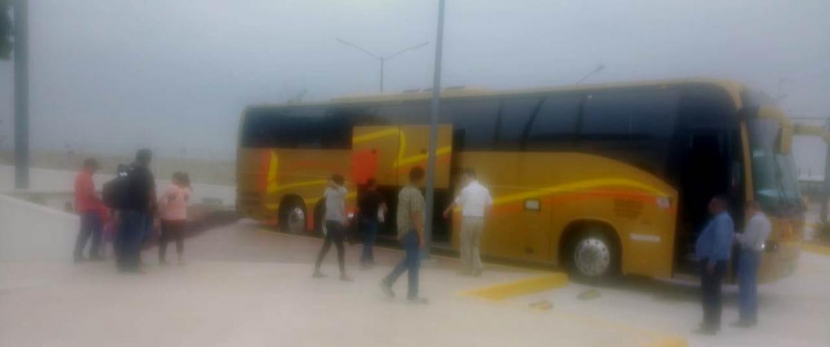 30 hondureños son repatriados por el INM, fueron asegurados en puntos carreteros