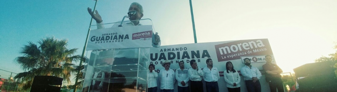 Mi Gobierno castigará corrupción de Humberto y Rubén Moreira: Armando Guadiana