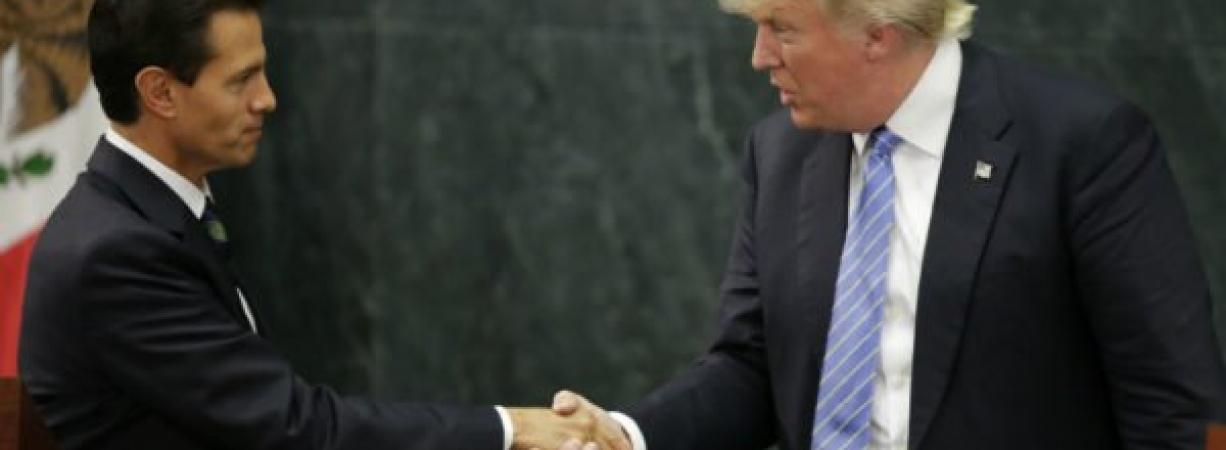 Confirman primera reunión entre los presidentes Peña y Trump