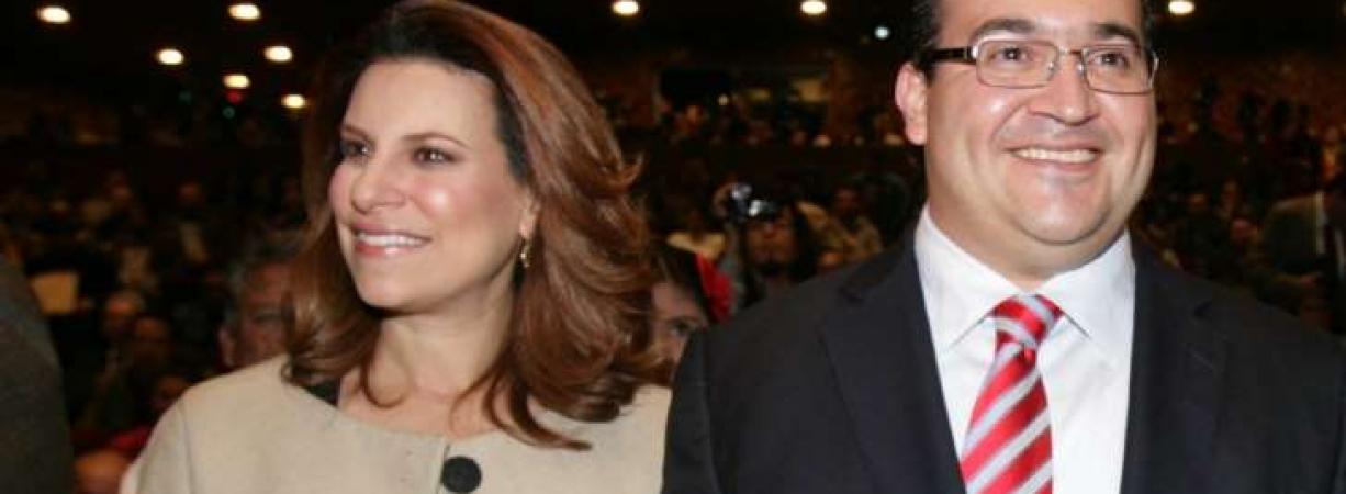 Karime Macías, la esposa de Javier Duarte, se va a Londres